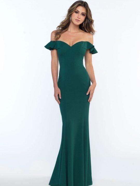 dark-blue-bridesmaid-dress