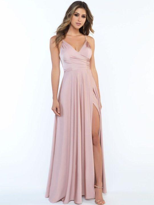 pink-long-bridesmaid-dress
