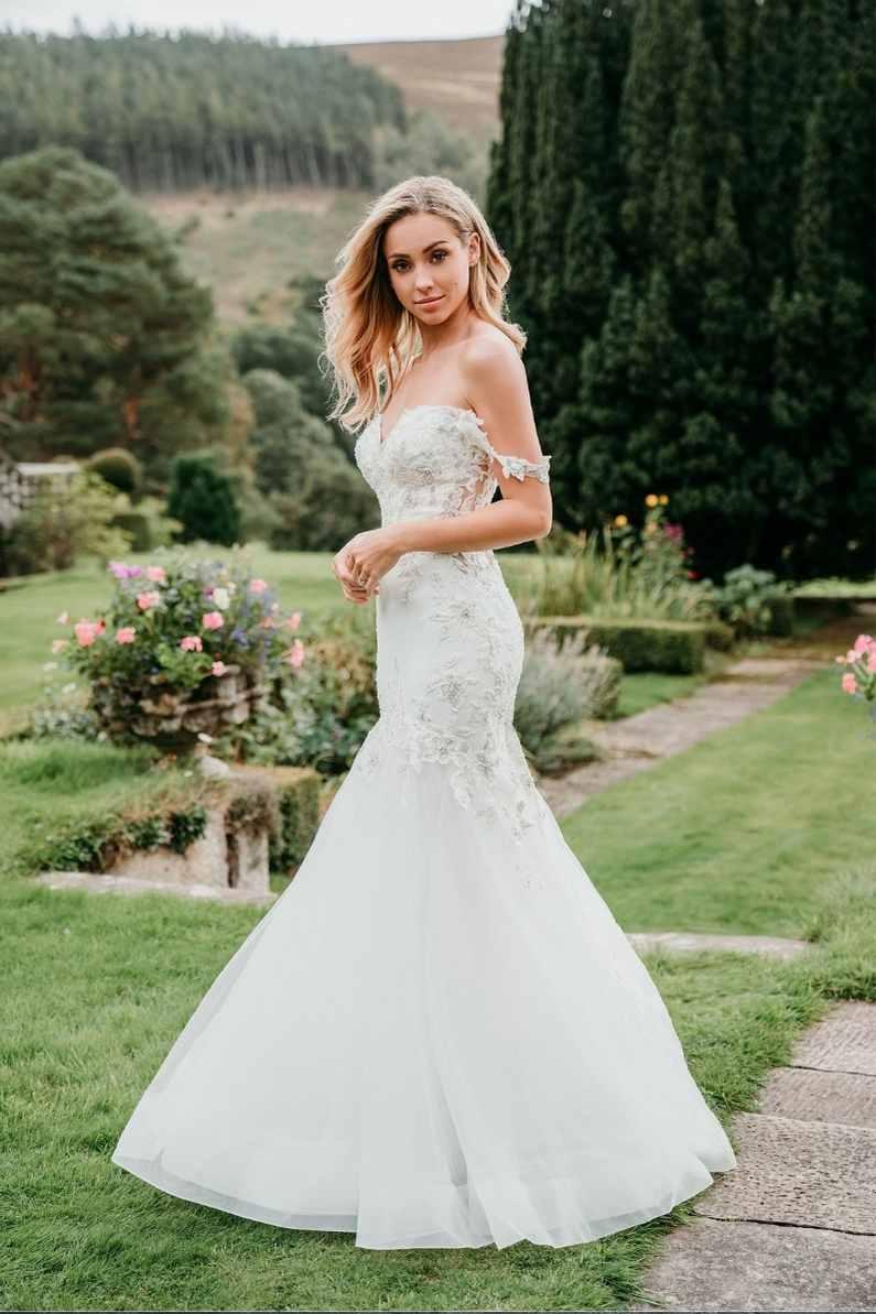 Bride-in-a-garden