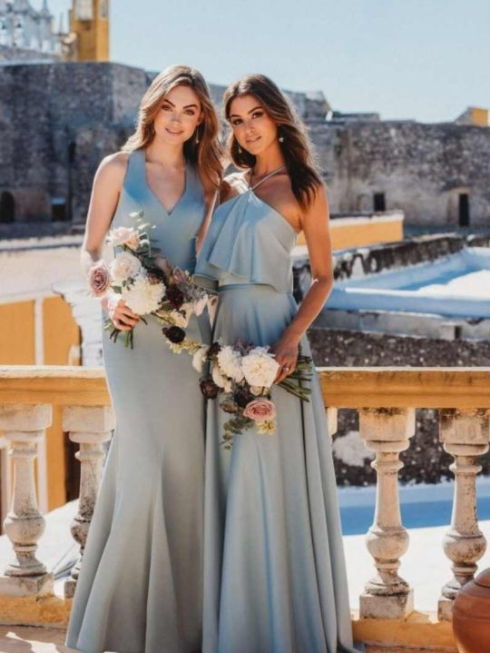 light-blue-bridesmaid-dress